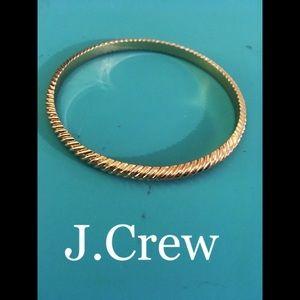 j.Crew GoldTone Bangle